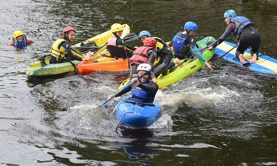 Team Building and Group Outings in Ireland with our many watersports mobile adventures