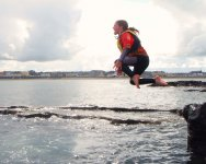 lots of fun in tuckers hole in kilkee bay