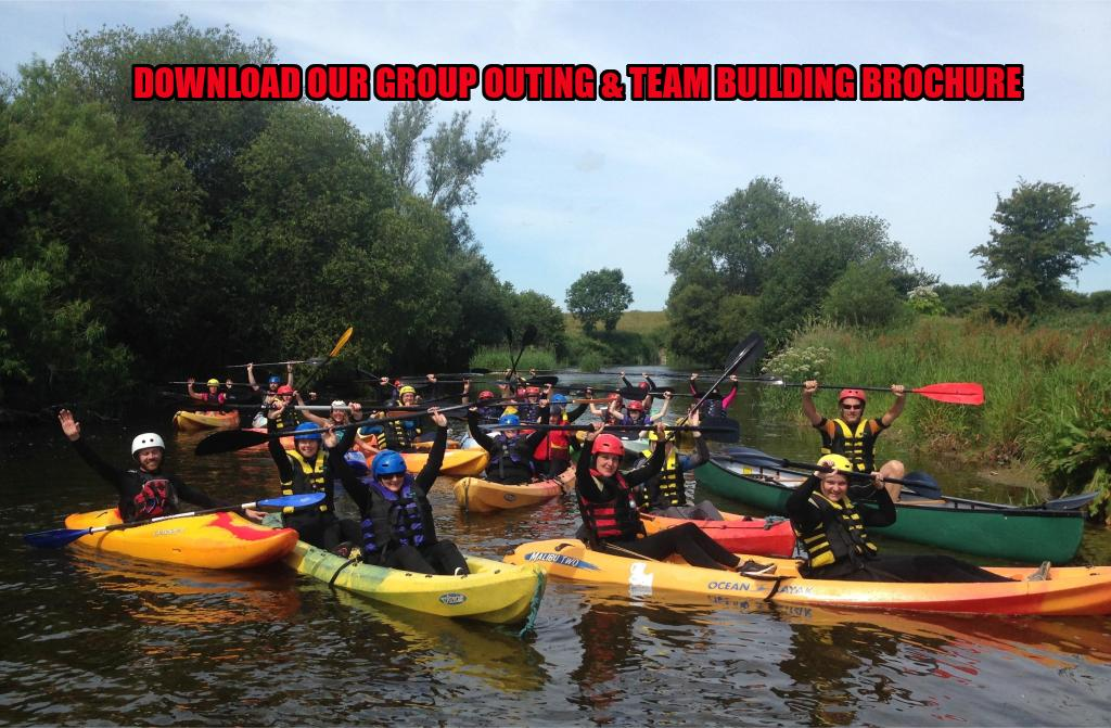 Nevsail offers Nationwide Group Outings and Team Building Activities in Ireland