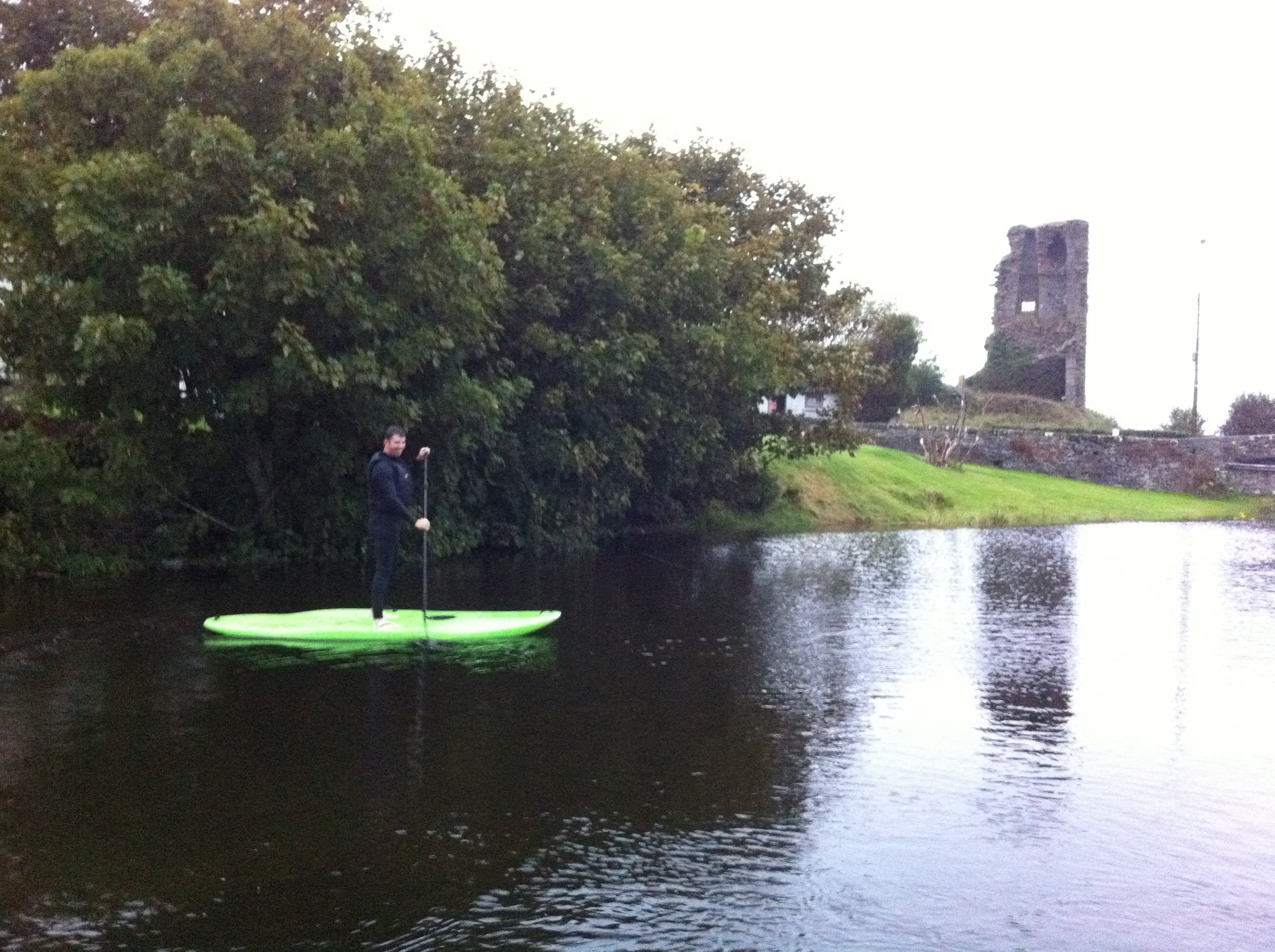stand up paddle boarding not just for the sea