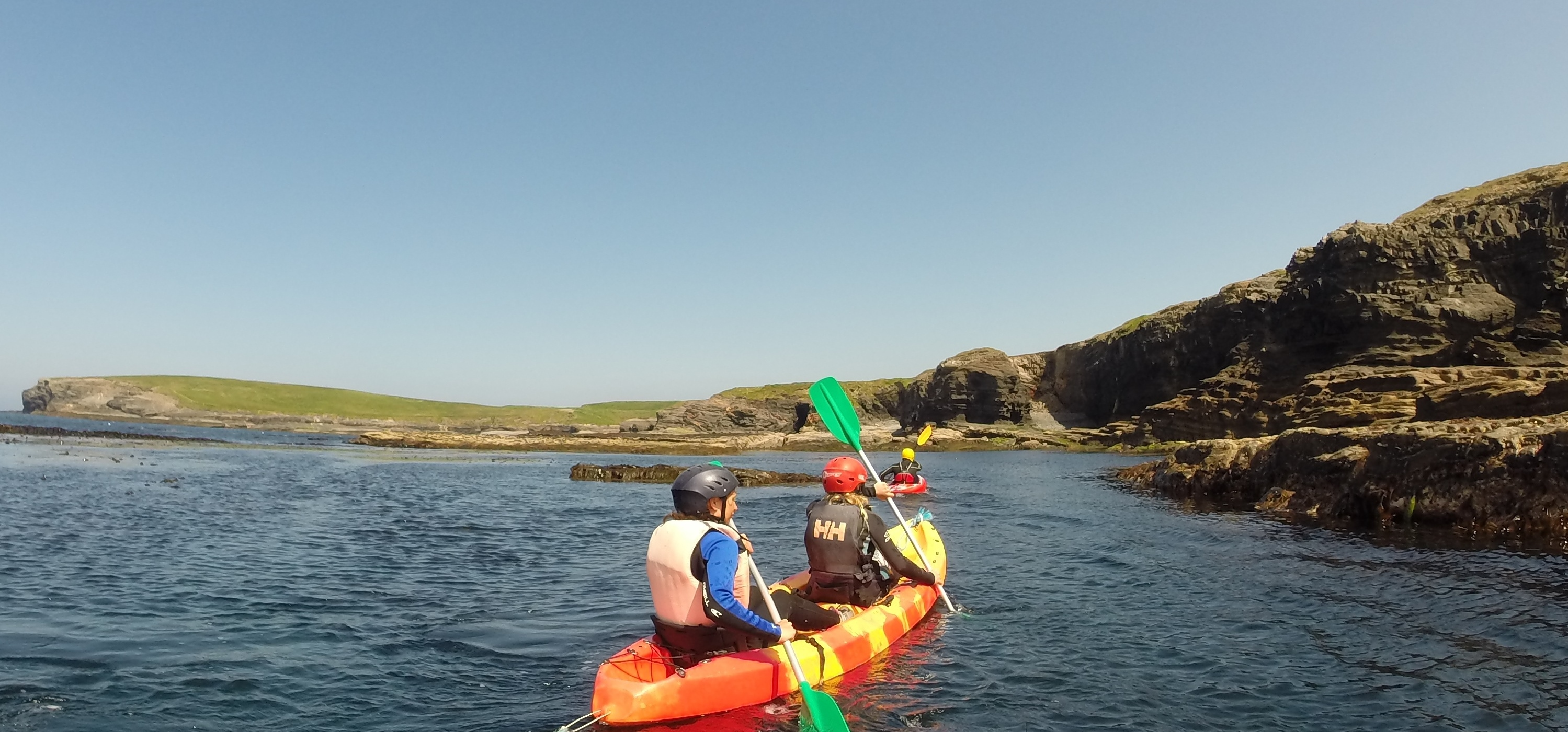 kayaking Clare with Nevsail Watersports for Corporate events and sports and social group outings