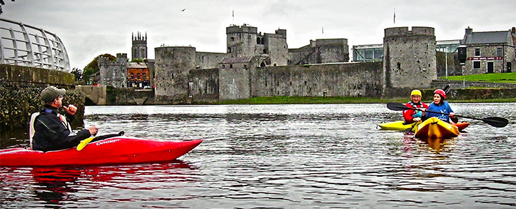 How to Kayak -  things to do in Limerick