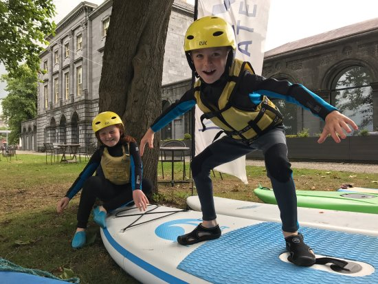 Our Watersports Camp are a favourite with all the kids and teens in Limerick and Clare, who often save up there own pocket money to attend
