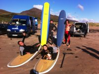 adult and kids surfing lessons in kilkee and in doonbeg