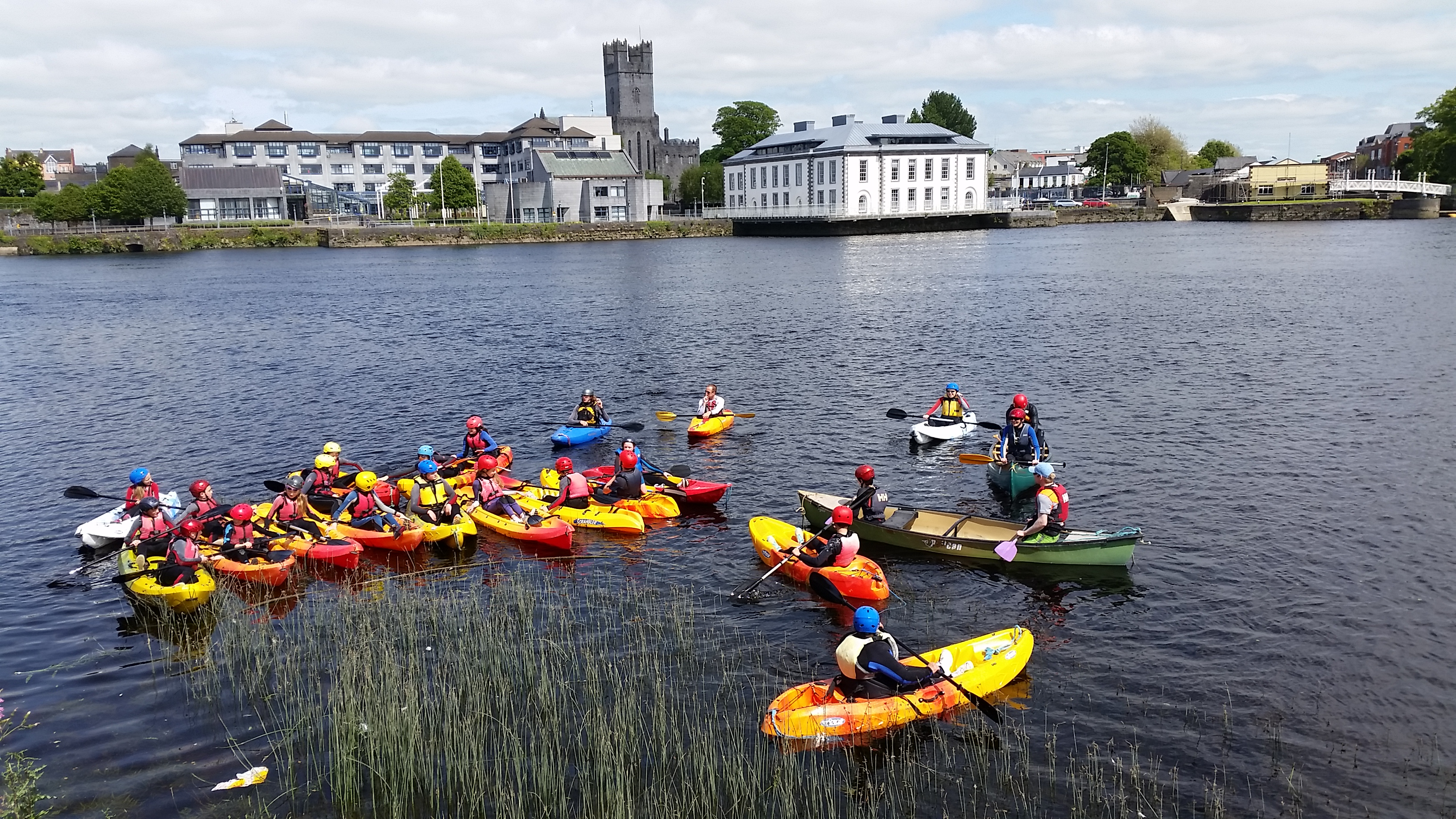 Limerick City Kayaking Tours - Fun things to do in Limerick with Nevsail Watersports