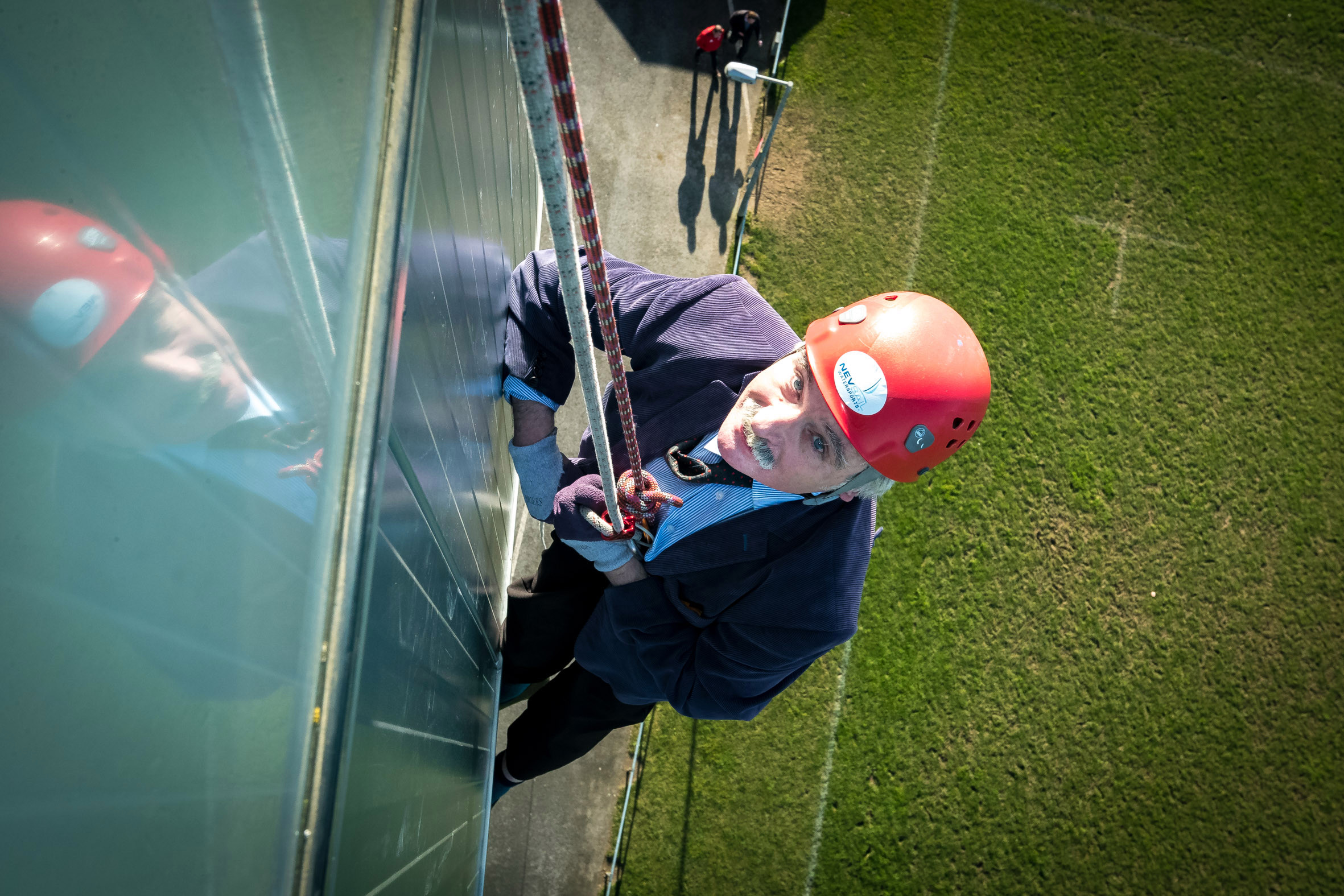 Abseiling Limerick's Thomond Park - TRY our newest and most exciting Limerick Team Building activities.